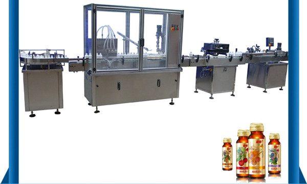 ประเทศจีนผู้ผลิตขวดน้ำผึ้งอัตโนมัติเครื่องบรรจุของเหลว